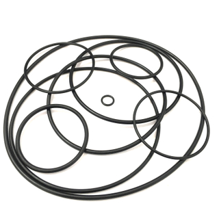 Black NBR/FPM/FKM O Ring Of Various Sizes
